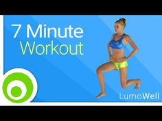7 Minute Workout to lose weight fast burn fat and tone your body