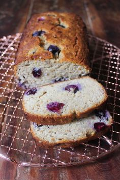 Blueberry Banana Bread 1