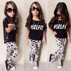 $5.11 (Buy here: https://alitems.com/g/1e8d114494ebda23ff8b16525dc3e8/?i=5&ulp=https%3A%2F%2Fwww.aliexpress.com%2Fitem%2FFlower-Girls-Baby-Summer-Clothes-Sets-Short-Sleeve-Black-Tops-Lace-Back-T-shirt-Floral-Long%2F32712173978.html ) Flower Girls Baby Summer Clothes Sets Short Sleeve Black Tops Lace Back T-shirt+Floral Long Pants Little Lady Fashion Summer Set for just $5.11