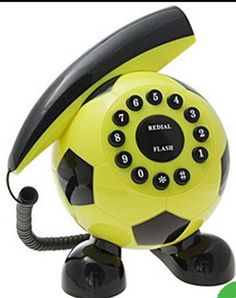 Telephones photo soccer ball phone telephone retro, telephone line, telepho
