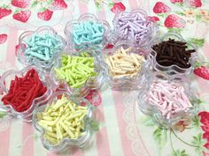 Sprinkles Topping  9box Chocolate Shavings Style by SweetieTiny, $29.99