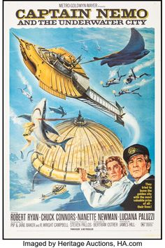 The Sea Movie, Submarine Movie, Sunday Movies, Underwater City, Romantic Comedy Movies, Martial Arts Movies, Film Genres, Leagues Under The Sea, Classic Movie Posters