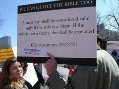 [BibleQuote.jpg] We can quote the bible too...