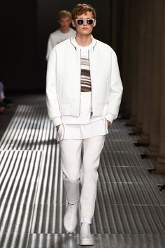 Neil Barrett - Spring 2015 Menswear - Look 4 of 42
