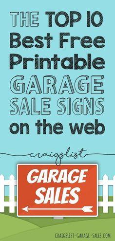 100 Garage Sale Advertising Ideas In 2020 Garage Sale Signs Yard Sale Signs Garage Sale Advertising