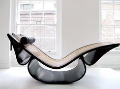 Oscar Niemeyer Vintage Rio Chaise Longue