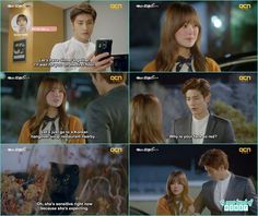 yoo mi scared from a black cat and grab jin wook- My Secret Romance: Episode 7
