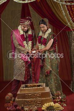 lindo casal indiano — Imagem Stock #47447597