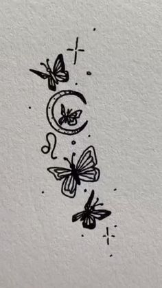 Flower Doodles, Aesthetic Tattoo, Mini Drawings, Hippie Tattoo, Tattoos And Piercings, Drawings, Tatto, Think Tattoo, Drawing Inspiration