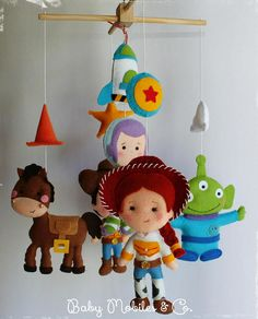 Baby Mobile Baby Mobiles Hanging Toy Story bedding Nursery