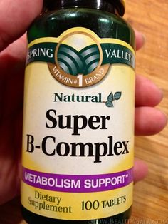 Super B-Complex is the perfect supplement to support your metabolism in digesting carbs, fats, and proteins. #weightlossmotivation