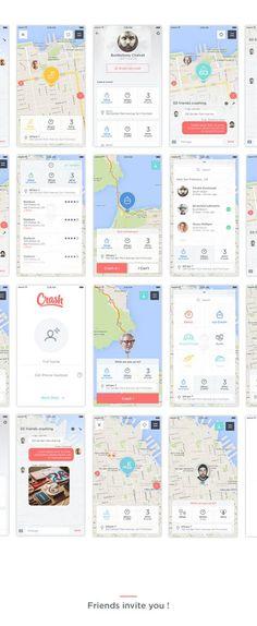 지도어플로 메타포 참고용으로선정 난잡한 지도 화면네서의 메타포가 즁요하다고 생각 표시를 어떤식으로하는가 가 중요하다고생각한다