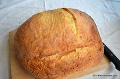 Paine cu cartofi - o paine de casa cu miez elastic si coaja crocanta. Cum dam forma unei paini? La ce temperatura se coace painea? Procedura este foarte sim