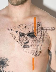 simbolos geometricos inspirados de leonardo da vinci