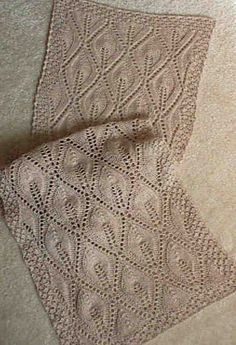lace knitting patterns scarf | Light Up My Life Scarf knitted in alpaca yarn