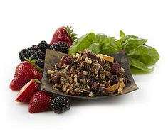 """Berry Basil Blast! White Tea - Love it!!  Sweet, but not too sweet.  Mellow, but not too relaxing.  This is really a very nice tea.  Fruity, of course, but the basil kicks much of that fruitiness to the side.  This could very easily become my go-to """"sip and knit"""" tea."""