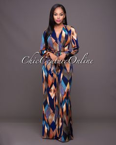 Chic Couture Online - Madrid Multi-Color Print Belted Jumpsuit.(http://www.chiccoutureonline.com/madrid-multi-color-print-belted-jumpsuit/)