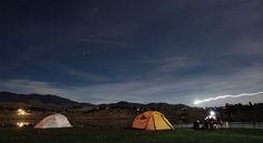 Camping at Twin Lake Park.