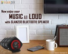 Enjoy your #music all loud with #SlanzerTechnology #BluetoothSpeaker.
