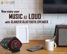 Enjoy your #music all loud with #SlanzerTechnology #BluetoothSpeaker.