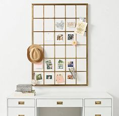 If you live in an itty-bitty apartment, invest the money you're saving on rent into hardworking pieces of furniture that will make your small space more streamlined. Here are 13 we like from Restoration Hardware's new teen line, RH Teen. Nothing makes your space feel more cluttered than messy surfaces. Get papers off your desk with a memory board that does double-duty as paper-sorter and art. Window Frame Memory Board, $295. Studio-apartment dwellers should create a cozy nook for a bedroom…