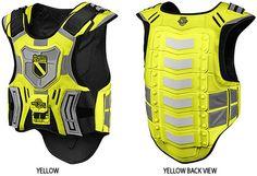 Motorcycle Armor   Motorcycle Street Bike Body Armor « Motorcycle Rider Gear Orange ...