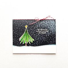 Paper Trufflez. Scribble tree. Christmas Scribbles from Essentials by Ellen.