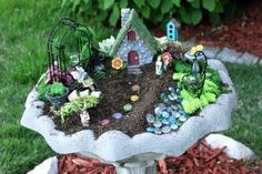 Fairy gardens are extremely beautiful when planned. In the event you want to create a fairy garden in a container, have a while to discover what type of container to use. Making a fairy garden at home can be rather… Continue Reading → Splash Pad, Garden Art, Garden Design, Fairies Garden, Garden Pond, Garden Crafts, Diy Crafts, Create A Fairy, Fairy Houses