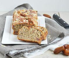 Bananenbrood (Gezonde Versie)   Eef Kookt Zo Dutch Recipes, Bread Recipes, Baking Recipes, Vegan Recipes, Healthy Cookies, Healthy Snacks, Healthy Baking, Food Hacks, Family Meals