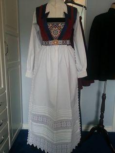 Made by Inger Johanne Wilde Folk Costume, Costumes, Norwegian Rosemaling, Norway, Sewing, Iceland, Sweden, Sky, Patterns