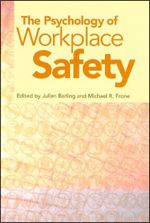 This book points out the wide variety of ways in which I/O psychologists can help reduce unintentional workplace injuries. It will be a valuable addition to the library of psychologists and policymakers interested in job safety issues.