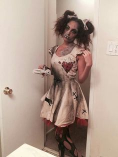 Voodoo doll costume                                                                                                                                                                                 More