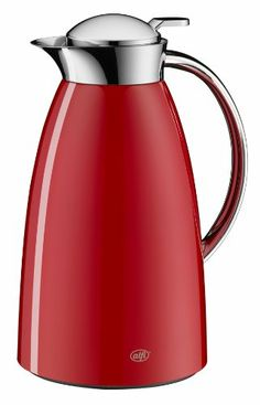 Alfi Gusto Aluminium Carafe, 33-Ounce, Red - http://teacoffeestore.com/alfi-gusto-aluminium-carafe-33-ounce-red/