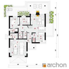 Projekt domu Dom w pierwiosnkach (G2) - ARCHON+