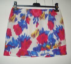 Aangeboden door vintage store Things I like Things I love: kleurrijke korte rok, maat S/M.