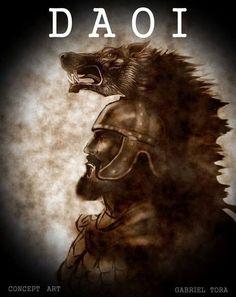 Illustrations of Dacia, Thracia & Phrygia Image Salvage) - Forum - DakkaDakka Romanian People, Irish Mythology, History Page, Book Of Kells, Triple Goddess, Knife Art, 2017 Images, Chest Tattoo, Linocut Prints