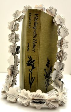 a cute way to recycle a book