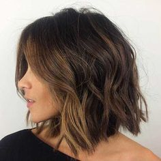 15 New Short Haircut for Thick Wavy Hair | The Best Short Hairstyles for Women 2015