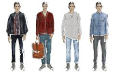 men's fashion illustration - Nichelle Singley
