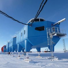 World's first mobile research facility opens in Antarctica