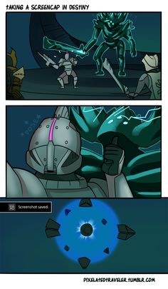 yeah sure, I'll beat up Crota, but first...LEMME TAKE A SELFIE