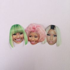 Nicki Minaj Sticker Set by sassycelebs on Etsy