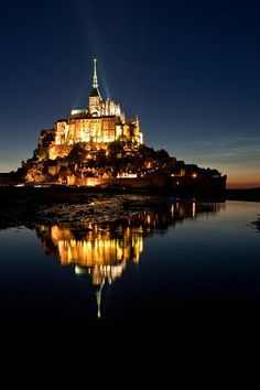 Mont St Michel, Normandy, France.....why did I not see this when I was there??