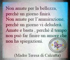 L'amore secondo Madre Teresa
