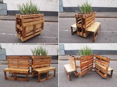 Brothers in benches pallet social project done in Johannesburg