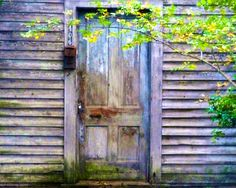 Fine Art Photography - Door with Aged Colors - Southern, Rural, Travel Photography-8x10 Wall Art on Etsy, $30.00