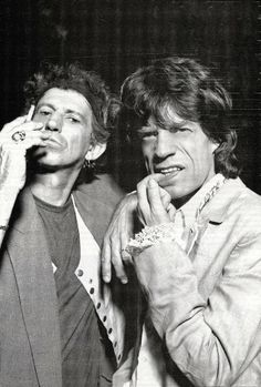 Keith and mick