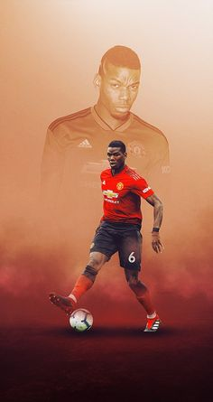 Sports on Behance Paul Pogba Manchester United, Manchester United Wallpaper, Manchester United Players, Old Trafford, Pogba Wallpapers, Black Football Boots, Soccer Art, Football Wallpaper, Sports Wallpapers