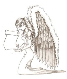 Guardian Angel Tattoo by Bekerah All About Angel Tattoos