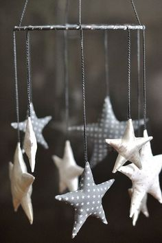 star baby mobile, super cute if tan/brown/red it would be perfect :)